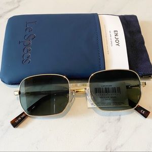 Le Specs • The Flash Gold Sunglasses
